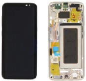 Samsung Galaxy S8 LCD Display & Touch Skärm Guld