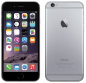 iPhone 6 16GB Space Gray Olåst | NORMALT SLITAGE