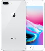 iPhone 8 Plus 64GB Silver OLÅST | NYSKICK