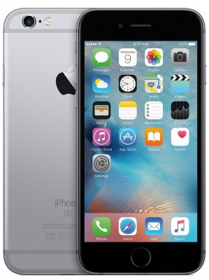 iPhone 6S 64GB Space Gray Olåst | NORMALT SLITAGE