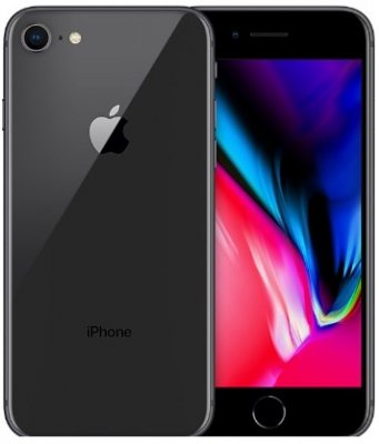 iPhone 8 64GB Space Gray Olåst | NORMALT SLITAGE