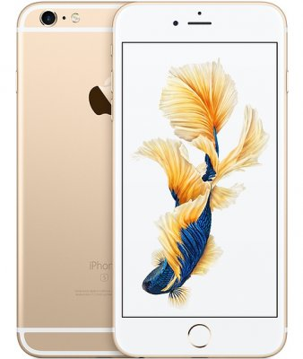 iPhone 6S Plus 16GB Guld OLÅST | NORMALT SLITAGE