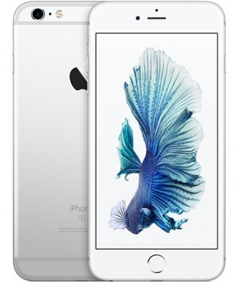 iPhone 6S 32GB Silver Olåst | NORMALT SLITAGE