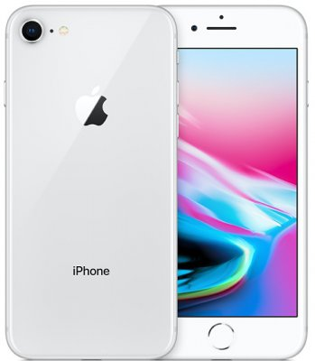 iphone 8 64GB Olåst Silver