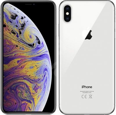 iPhone XS 64GB Silver Olåst | NORMALT SLITAGE