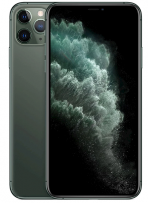 iPhone 11 Pro Max 64GB Midnight Green | BRA SKICK - FACE ID FUNGERAR EJ